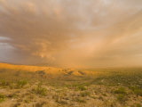 Thunderstorm at Sunset in the Arizona Desert Photographic Print by Mike Theiss