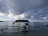 Boats at Esperanza on Vieques Island, Puerto Rico Photographic Print by Scott Warren