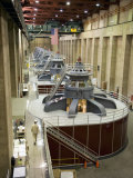 Inside the Generator Room at the Hoover Dam Photographic Print by Scott Warren