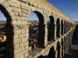 1st Century A.D. Roman Aqueduct in Segovia Photographic Print by Scott Warren