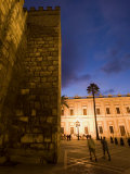 Outside of the Alcazar in the Plaza Del Triunfo Photographic Print by Scott Warren