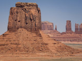 Rock Formations in Monument Valley, Utah Photographic Print by Scott Warren