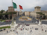 Piazza Venezia from the Steps of the Vittorio Emanuele II Monument Photographic Print by Scott Warren