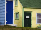 Colorful Buildings in a Small Coastal Village Photographic Print by Scott Warren