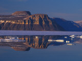 Scenic View of Arctic Cliffs Photographic Print by Nick Norman