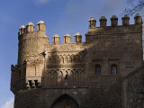 Battlement in the Wall Surrounding the Medieval City of Toledo Photographic Print by Scott Warren