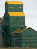 Exterior of a Grain Elevator Photographic Print by Pete Ryan