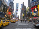 Times Square in Mid Town Manhattan Photographic Print by Scott Warren