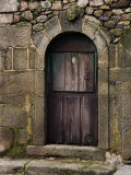 Doorway in an Old Stone House in La Alberca Photographic Print by Scott Warren