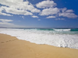 Wave Set Coming in at the Bonzai Pipeline on Oahu's North Shore Photographic Print by Mike Theiss