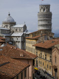 View of the Duomo and the Leaning Tower of Pisa Photographic Print by Scott Warren
