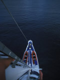 View from the Mast of a Sailboat Photographic Print by Nick Norman