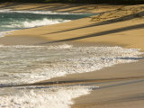 Waves Comes to Shore at a Beach on the North Shore of Oahu Island Photographic Print by Charles Kogod