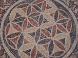 Mosaic Floor at Herod's Mausoleum Photographic Print by Michael Melford