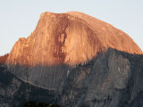 Half Dome Mountain's Sheer Rock Face at Twilight Photographic Print by Charles Kogod