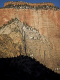 Scenic View of Zion National Park, Utah, Monument Valley, USA Photographic Print by John Burcham