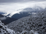 Fresh Snow Covers the Mountains and Forests East of Deqin Photographic Print by Scott Warren