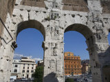 Looking Out from the Colosseum in Rome Photographic Print by Scott Warren
