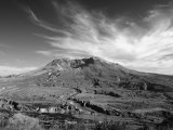 View of Mount Saint Helens Showing New Dome-Building Photographic Print by Steve & Donna O'Meara
