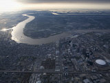 Aerial of New Orleans, Looking East Photographic Print by Tyrone Turner