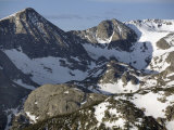 Mountain Scenery with Snow as Summer Begins Along Trail Ridge Road Photographic Print by Scott Warren
