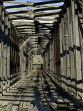 Abandoned Railroad Bridge Photographic Print by Pete Ryan