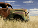 Abandoned Pickup Truck Near Divide Photographic Print by Pete Ryan