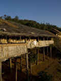 Lahu Tribe Outpost in Mountainous Northern Thailand Photographic Print by Rebecca Hale