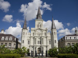 St Louis Cathedral in Jackson Square on a Sunny Day Photographic Print by Taylor S. Kennedy