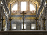 Altar Inside Saint Peter's Basilica in Rome Photographic Print by Scott Warren