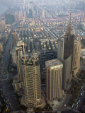 View of Shanghai from the Observation Deck of the Jinmao Tower Photographic Print by Scott Warren