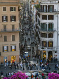 Spanish Steps from the Piazza Di Spagna Photographic Print by Scott Warren