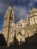 Facade of the 13th Century High Gothic Cathedral of Toledo Photographic Print by Scott Warren