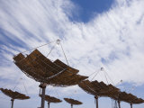 Hermansburg Solar Energy Receiver Array Photographic Print by Stephen Alvarez