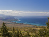 Aerial Photo of the North West Coastline of Hawaii Photographic Print by Mike Theiss