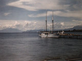 View of the Largest Fresh-Water Lake in Chile, Llanquihue Photographic Print by Jacob Gayer