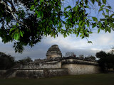 Caracol Observatory from Beneath a Tree Canopy Photographic Print by Raul Touzon