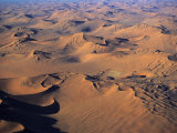 Aerial View of Namibia's Barren Desert Landscape Photographic Print by Gianluca Colla