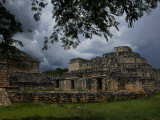 Ruins of the Mayan City of Ek Balam Photographic Print by Raul Touzon