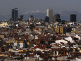 Madrid Cityscape Photographic Print by Raul Touzon