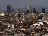 Madrid Cityscape Photographic Print by Raul Touzon
