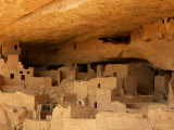 Ruins of the Anasazi Cliff Palace in Mesa Verde National Park, Photographic Print