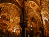 Interior of the Great Mosque, Now a Roman Catholic Cathedral Fotografisk tryk af Raul Touzon