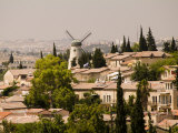 Jerusalem, Israel, High Angle View of Homes in Yemin Moshe Photographic Print by Richard Nowitz