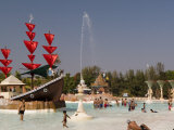 Water Theme Park in Gorai Outside the City Center Photographic Print by Abraham Nowitz
