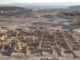 Masada, a Palace Complex Built by Herod the Great Photographic Print by Michael Melford