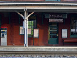 Train Stop in Manassas, Virginia Photographic Print by Hannele Lahti