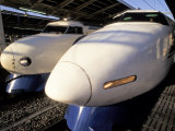 Noses of Two Bullet Trains Photographic Print by Richard Nowitz