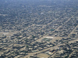 Aerial View of Slums Near Chiclayo Photographic Print by Gordon Wiltsie