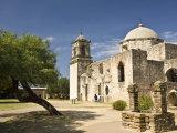 San Antonio, Texas, Mission San Jose and San Miguel De Aguayo Photographic Print by Richard Nowitz
